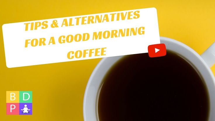 Find out how you can turn morning coffee consumption into a positive daily ritual