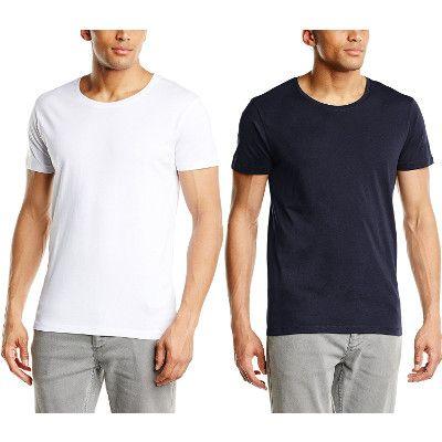Chollo en Amazon España: Camiseta Selected Pima Dave por solo 8,08€ (un 55% de descuento sobre el precio de venta recomendado y precio mínimo histórico)