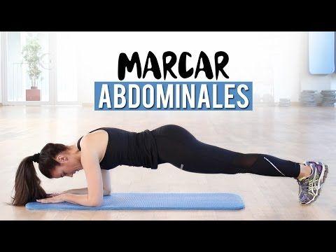 ABDOMINALES ISOMÉTRICAS PARA MARCAR Y ENDURECER EL ABDOMEN - YouTube