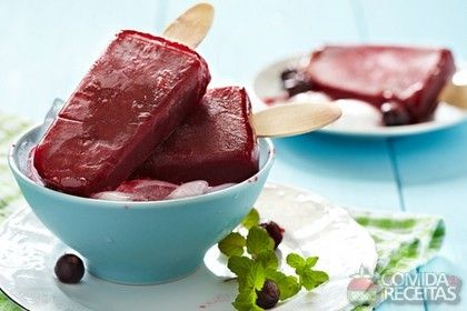Receita de Picolé de uva - Comida e Receitas