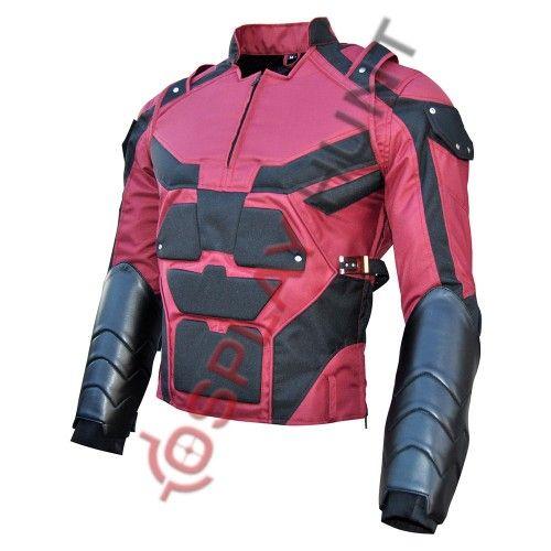 Charlie Cox Netflix Daredevil Costume Cordura Fabric Jacket / Daredevil Season 2 Jacket #daredevil #dare #dareyourself