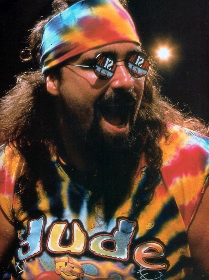 Dude Love, aka Mankind aka Mick Foley          Legend of life and wrasslin