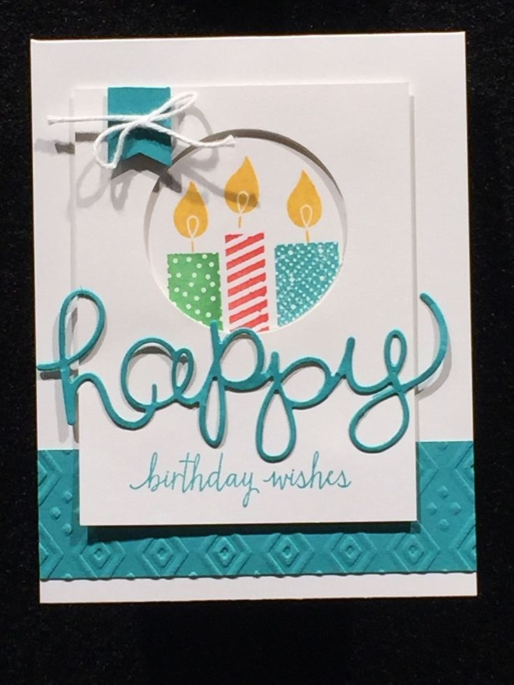 Stampin' Studio, Stampin' Up!  Build a Birthday, Hello You Thinlits, Circle Framelits