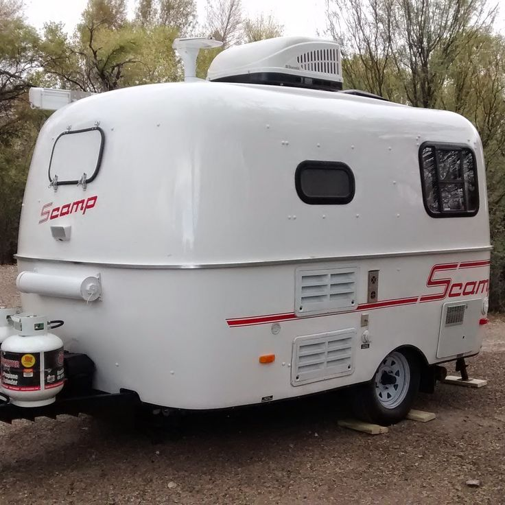 Travel Trailers With Outdoor Kitchens: The Cynical Sailor & His Salty Sidekick: Meet Scamper, Our
