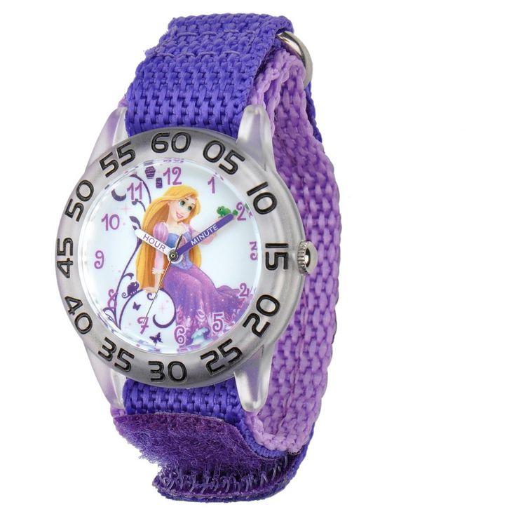 Disney Girls' Aurora Watch - Purple, Girl's