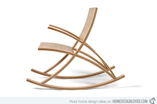 15 Contemporary Rocking Chairs That Rocks | Home Design Lover
