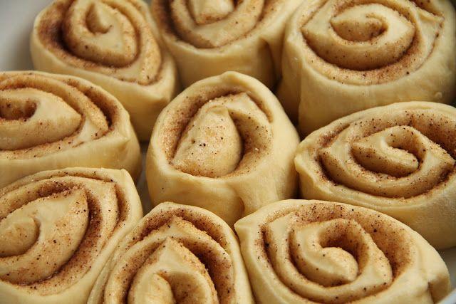 yummy muffin: Vzpomínka na Ameriku – Cinnamon Rolls