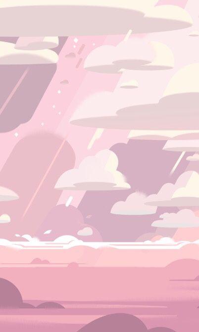 nascole: Fluffy cloud wallpaper from Steven... - v e r t i g o