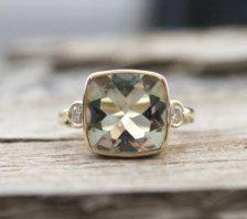 Handgemaakte verlovingsringen in Ringen - Etsy Sieraden