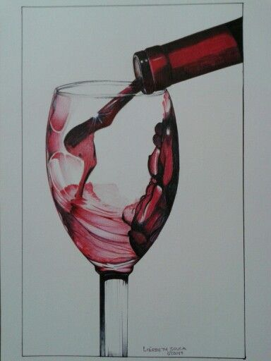 Taça e o vinho