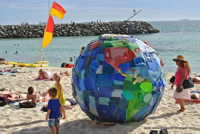 sami's colourfulworld: 2014 Sculpture by the Sea - Part 1