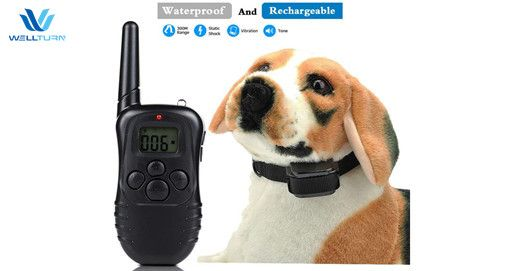 Wellturn WT-768-L Waterproof Electronic Remote Pet Trainer #Wellturn #E-Collar #Training #Dogs