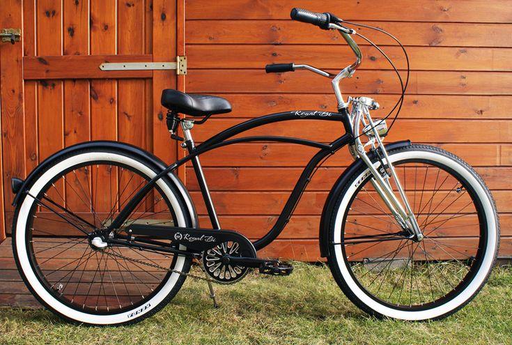 Rower cruiser Springer Mat #bike #cruiser #beachbike #beachcruiser #royalbi #rower #miejski www.RoyalBi.pl