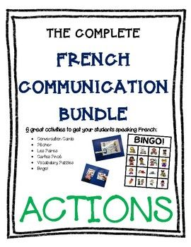 Inside package, you will find detailed explanations for 6 awesome oral communication activities that can be done as a whole class or small groups. Each activity includes detailed instructions and full-colour cards that can be simply printed, cut and used!