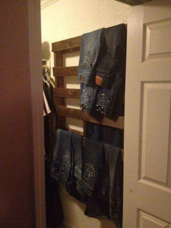 pallet clothes rack