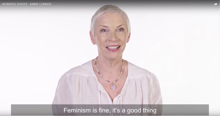"""Feminism is fine, it's a good thing"" - Annie Lennox's message ahead of the World Economic Forum Annual Meeting 2018 - https://eurythmics-ultimate.com/2018/01/feminism-fine-good-thing-annie-lennoxs-message-ahead-world-economic-forum-annual-meeting-2018/"