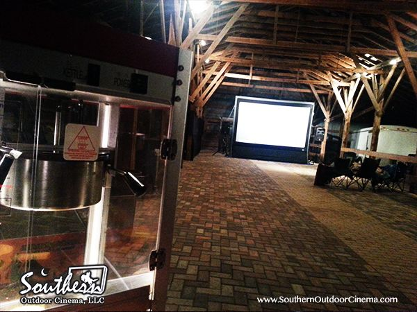 Barns Provide Unique Venue For Outdoor Movies In Winter