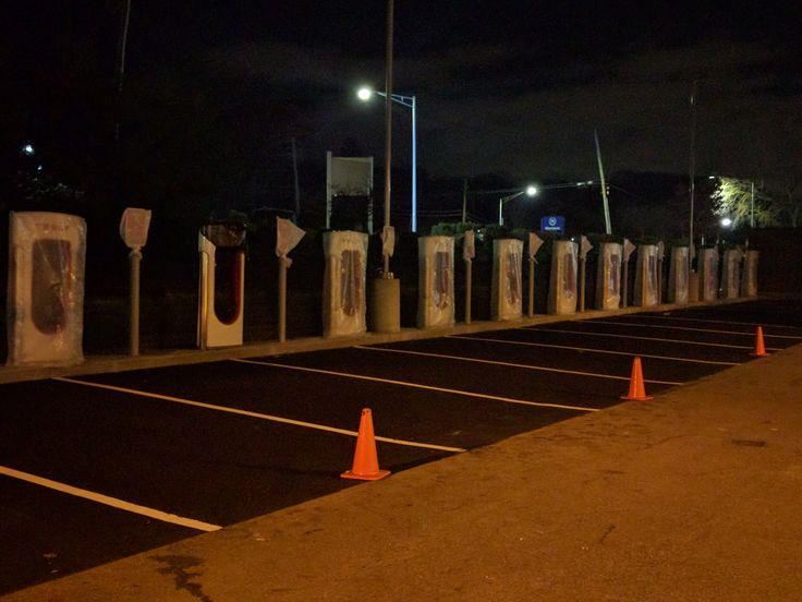 New Tesla Charging Station in Tarrytown NY #Tesla #Models #car #Automotive #cars #Autos
