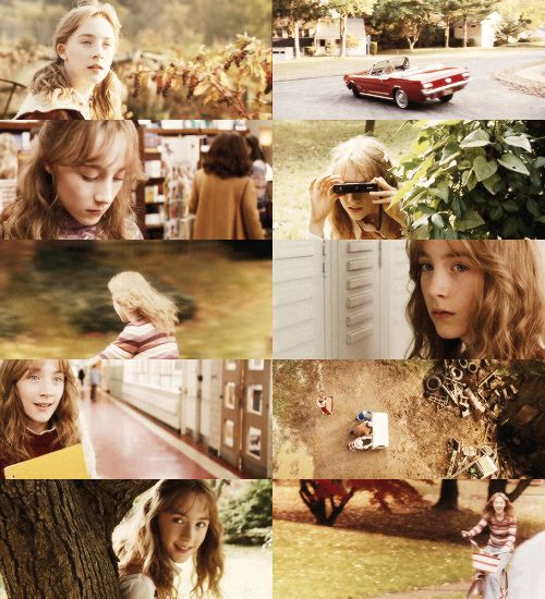 These are a few scenes from the movie that show how Susie was when she was still living