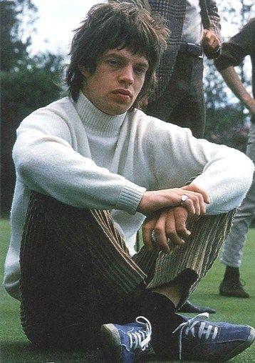 Young Mick Jagger                                                                                                                                                     More