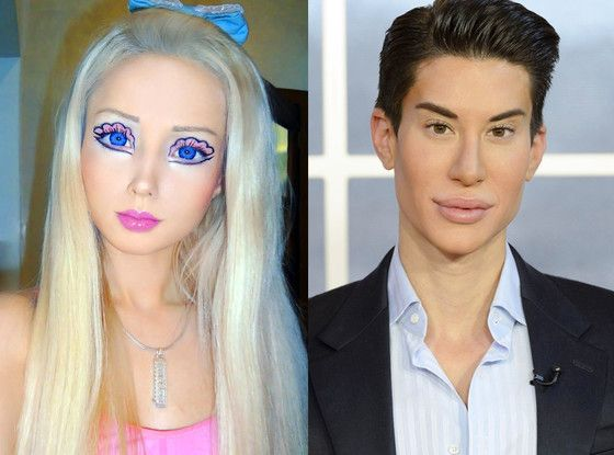 Real Life HUMAN Barbie and Ken Dolls WOW! or WEIRD