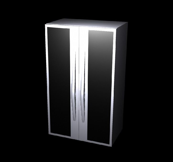Fbx Modern Refrigerator - 3D Model