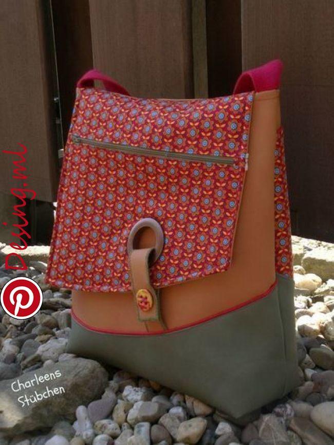 """Ebook Dea!!! Du magst moderne Taschen, die nicht dem Einheitsbrei entsprechen? Mit einer praktischen """"Everyday"""" Größe- nicht zu klein, nicht"""
