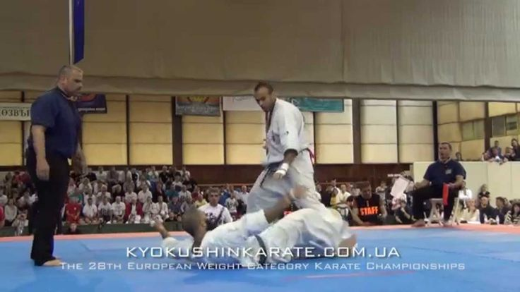 Alejandro Navarro was knocked by Djema Belkhodja (Kyokushin KO)