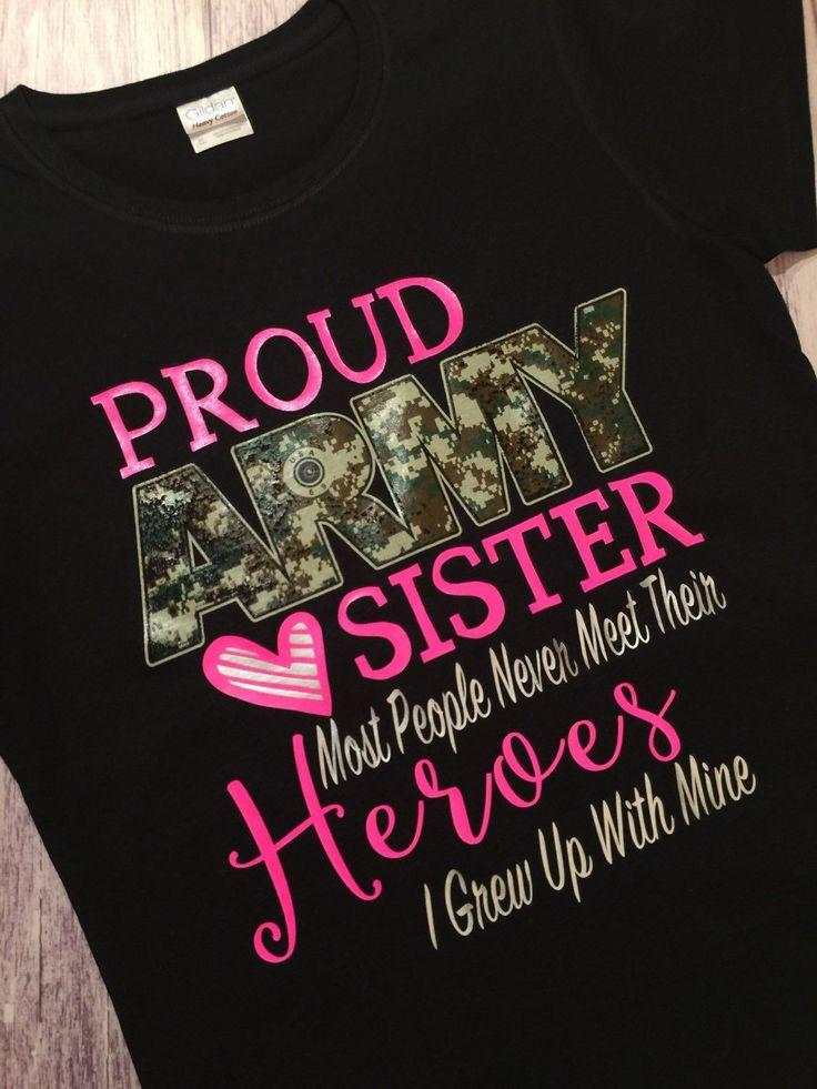 Proud Army Sister Shirt, Army Sister Shirt, Army Shirt, Military Homecoming Shirt