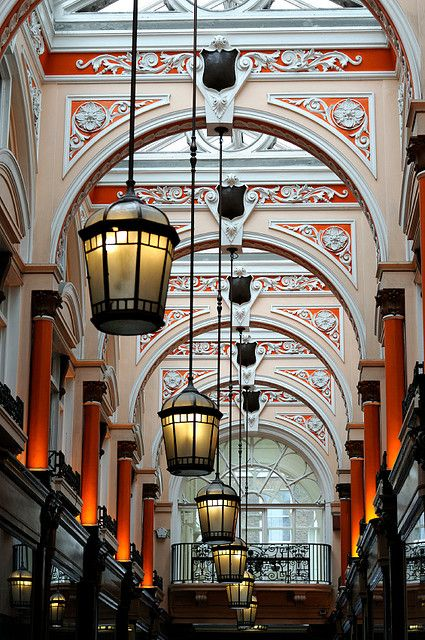 If you're studying abroad in #London, keep your eyes open for interesting architectural and interior details all around you. The Royal Arcade is found in Mayfair, a covered walkway full of tiny shops on both sides. It's not far from Green Park and Piccadilly Circus and worth wandering through if you're in the area. capa.org/london