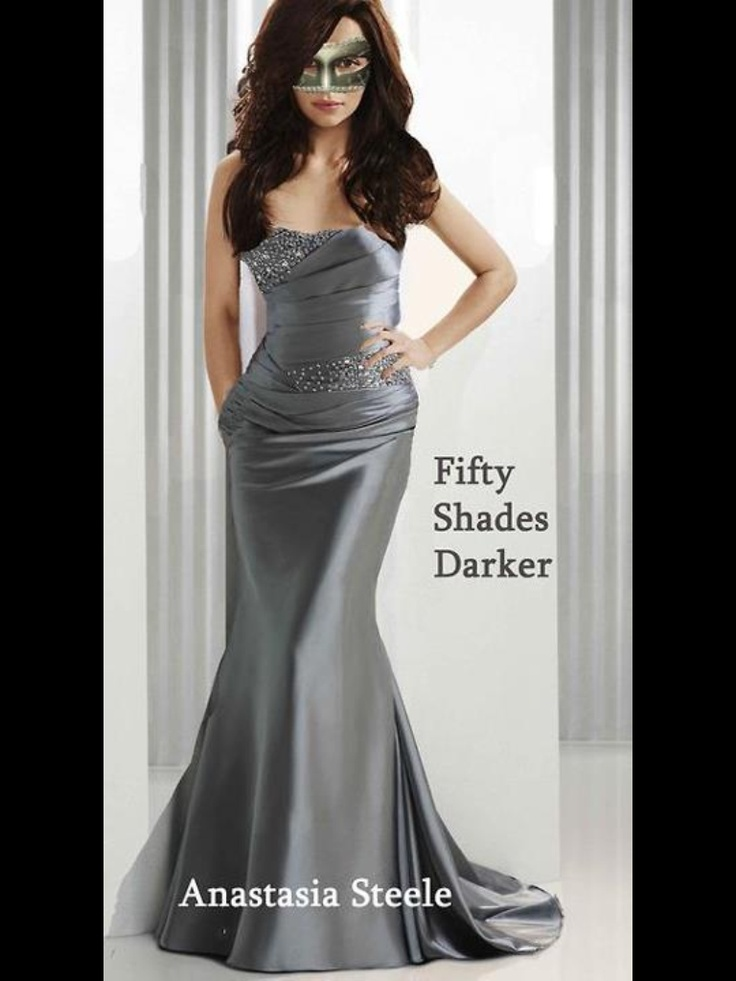 Anastasia Steele Going To The Masked Ball In Darker