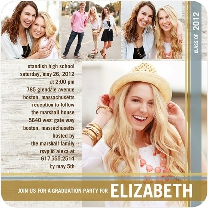 110 best senior invitations images on Pinterest Senior invitations