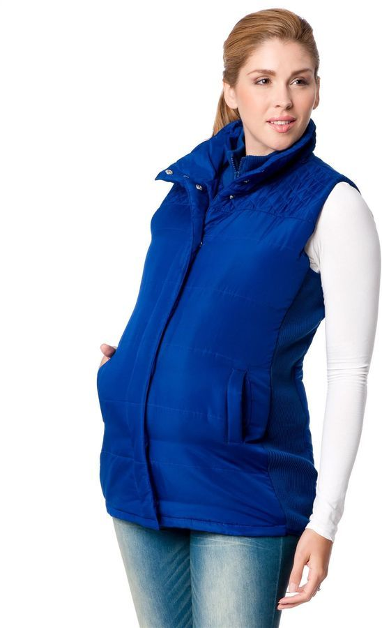Motherhood Maternity Quilted Puffer Maternity Vest