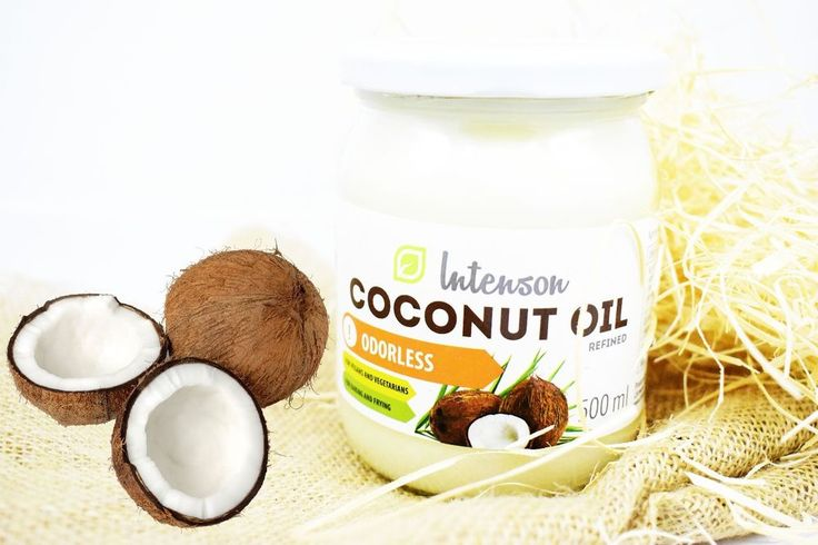 Extra Virgin Coconut Oil, Organic, Pure, Raw for Cooking 500ml  #INTENSON