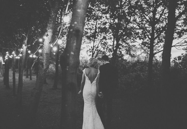 James Melia - JLM Couture Alvina Valenta Lace Wedding Dress for a DIY Rustic Wedding at Shustoke Farm Barns in Warwickshire with Mis-match Multi-way Pastel Bridesmaid Dresses & Flowers.