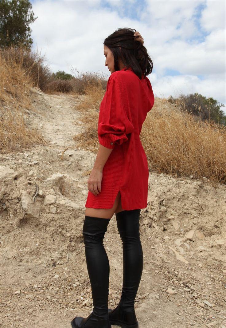 Red shirt.   Mishka vntg   ASOS Marketplace