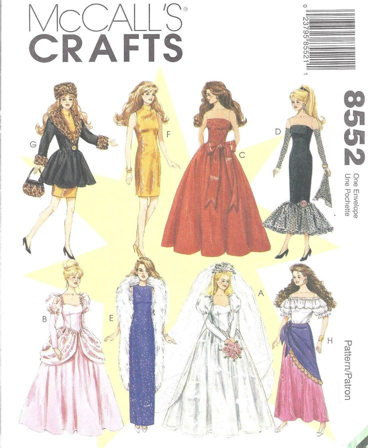 3061 best Doll clothing images on Pinterest | Doll patterns, Dolls ...