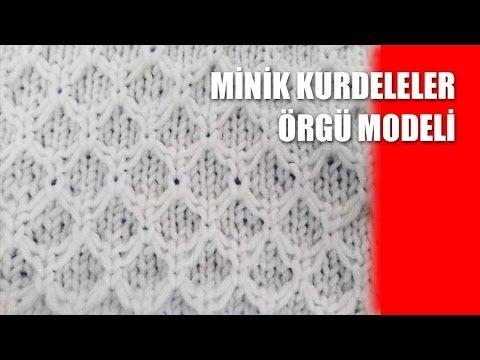 MİNİK KURDELELER bebek battaniyesi bebek yeleği Örgü Modeli - Şiş İle Örgü Modelleri - YouTube