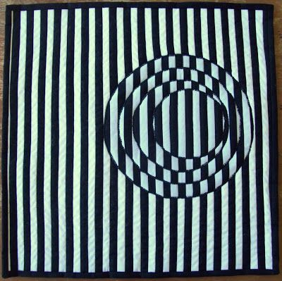 Op Art Quilt (Black and White #1)