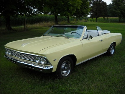 1966 Chevrolet Chevelle Malibu Convertible.. Re- pin brought to you by #lLowcost…