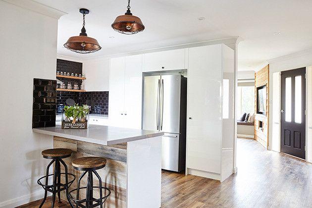 House Rules Charity Home Masters Home Improvement Caesarstone Sleek Concrete (6)