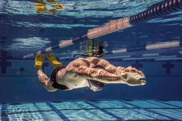 Pick swim drills based on your weakness in the water