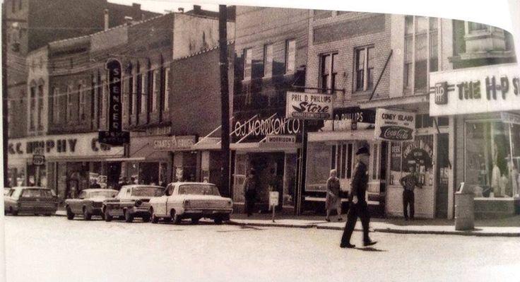Main St, Spencer, WV 1960--EWVAIH