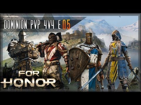 New video is up: For Honor - Let's Play E05 - [Dominion] [PvP] [4v4] with BtwRant & Special Guest Star Sethorven