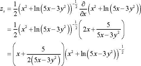 Calculus III - Partial Derivatives