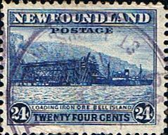 Newfoundland 1941 SG 287 Iron Ore Bell Island Fine Used Scott 264 Other North American and British Commonwealth Stamps HERE!
