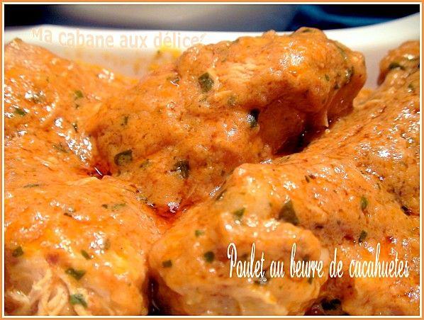 Poulet au curry et beurre de cacahuete | La cuisine de Djouza recettes faciles et rapides