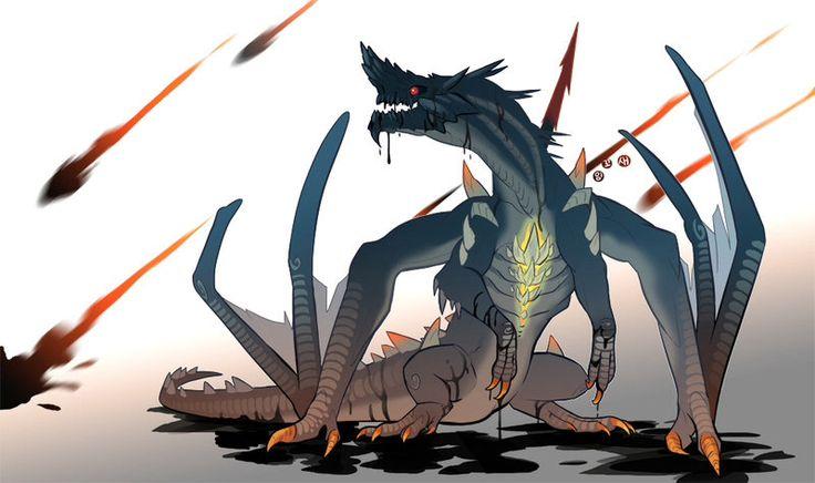 MH4U gogmazios cartoon | Monster Hunter | Pinterest | Cartoon