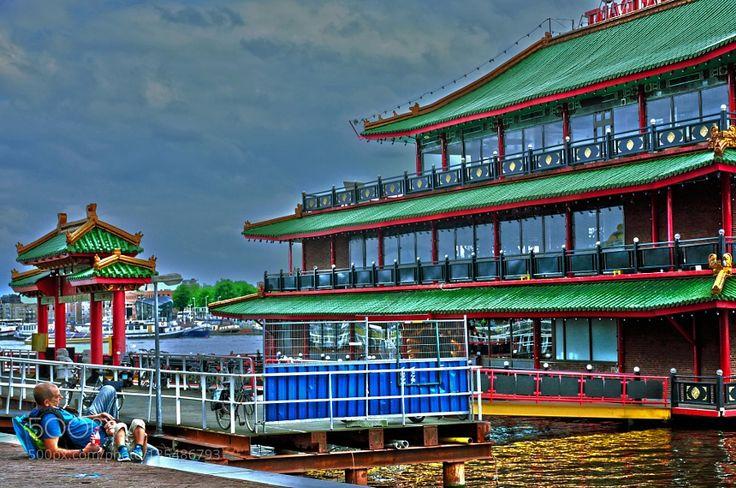 Sea Palace Amsterdam by WildoCagliani74. @go4fotos