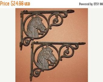 check out 13 off 2 pcs horse head shelf brackets free shipping horse headcast iron